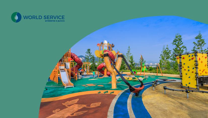 World Service Ambiente e Pulizia - Sanificazione aree gioco